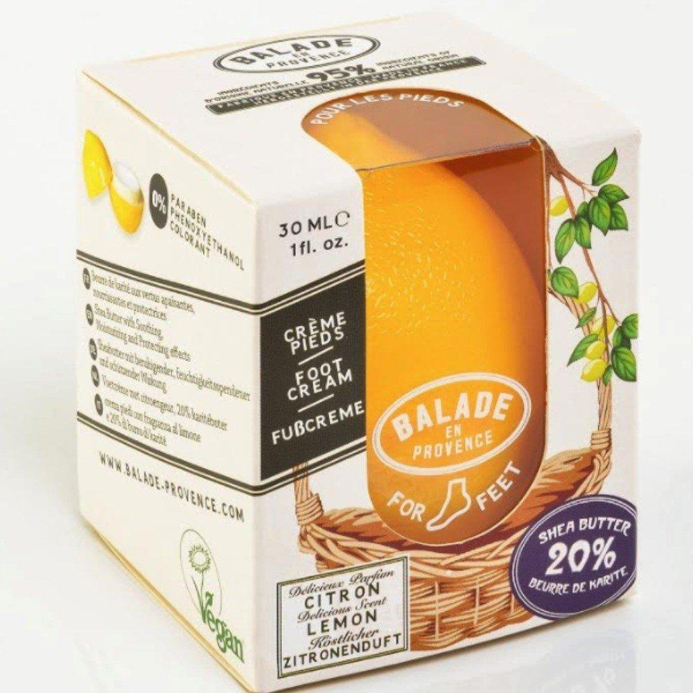Balade en Provence –  limone crema piedi 30 ml, vegan