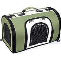 ZPNBKLS Plecak dla zwierząt domowych, przenośny plecak dla psa koci plecak dla zwierząt domowych listonoszka mały pies…