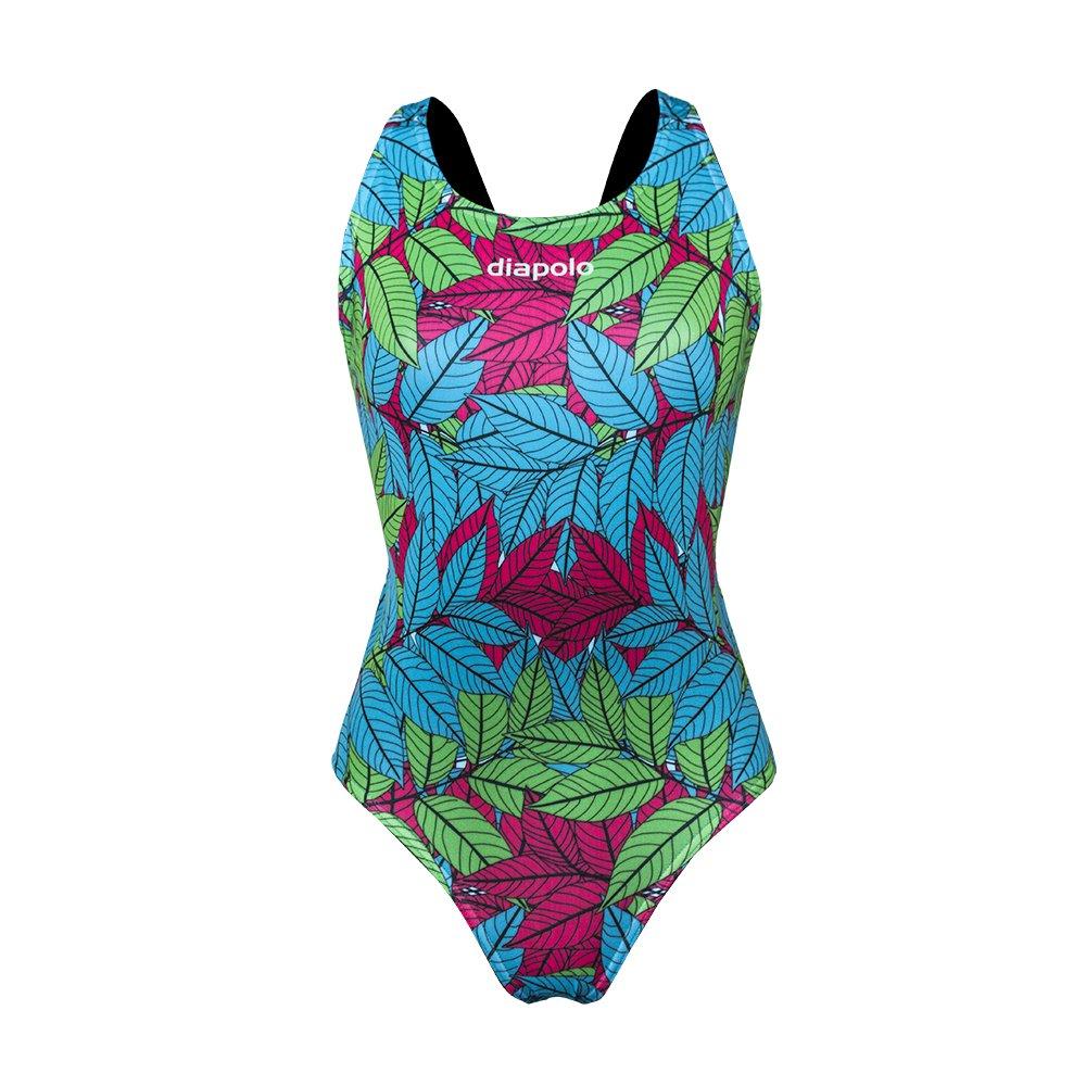 Diapolo Walnut Leaf Costume da bagno Summer collezione nuoto sincronizzato Nuoto pallanuoto thriathl...