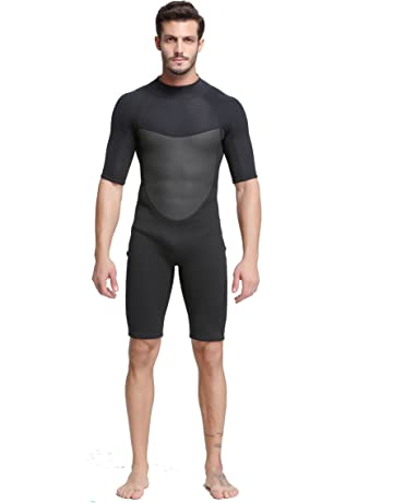204693087c Unisex Short Sleeve 2MM Neoprene Wetsuit Men for Surfing One Piece  Triathlon Scuba Diving Spearfishing Wetsuit