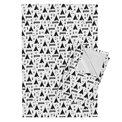 Amazon Roostery Black And White Teepee Arrows Scandinavian
