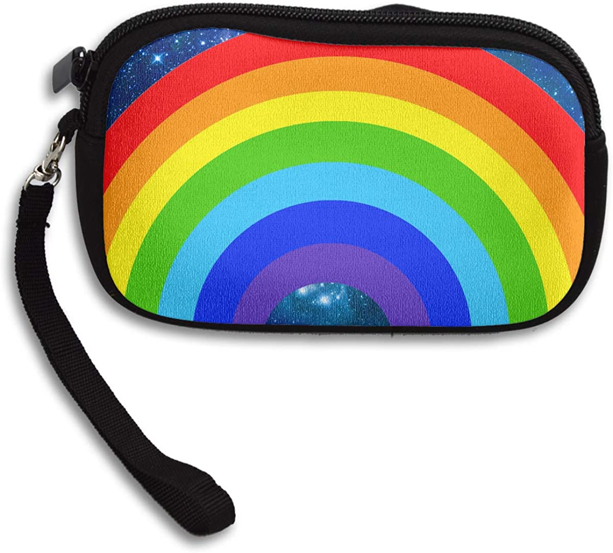 Colors Rainbow Deluxe Printing Small Purse Portable Receiving Bag