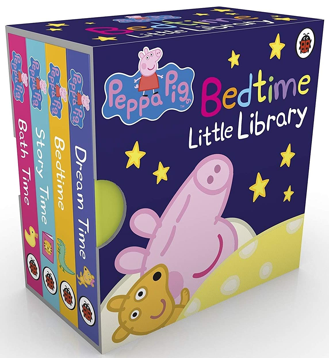 Peppa Pig: Bedtime Little Library Board book – 12 January 2017