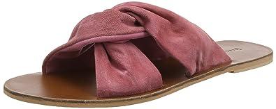 warehouse Knot Slider, Sandales Bout Ouvert Femme, (Pink 50), 36 EU