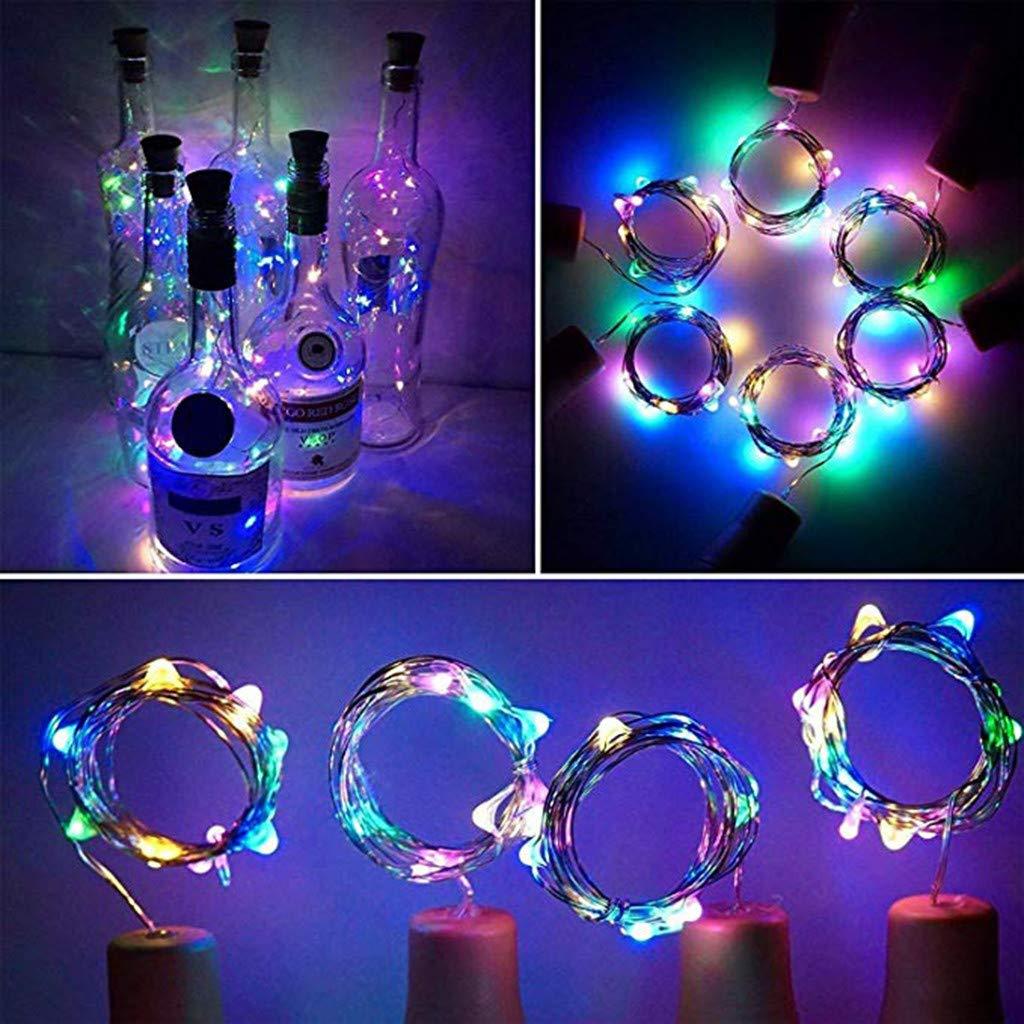 Cortina de luces LED (10 x 10 ledes, 0,5 W, para decoración ...