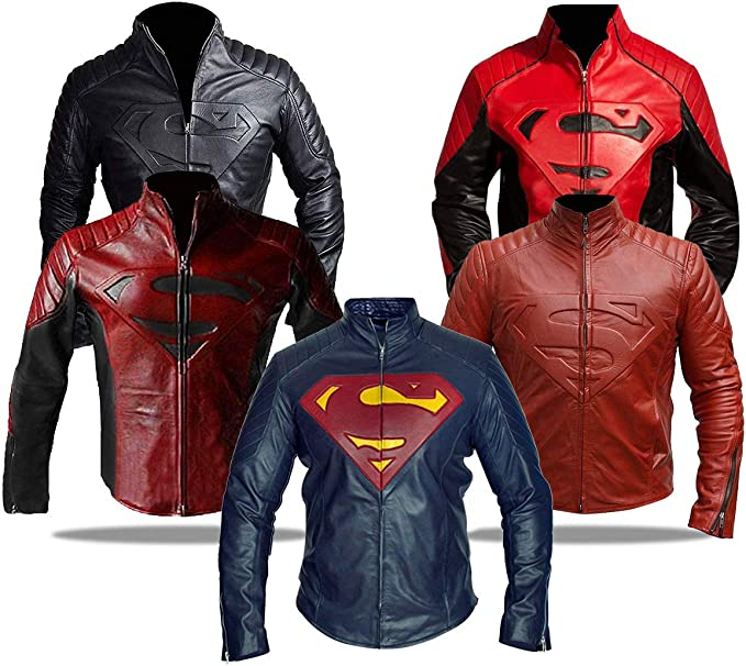 Spazeup Celebrity Costume Collection Leather Jacket