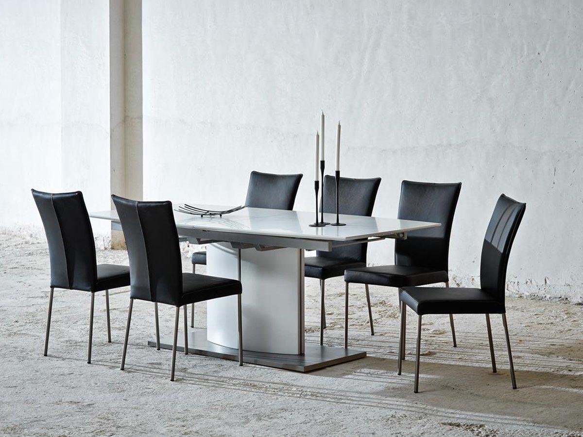 Esszimmertisch Küchentisch Auszugstisch Wohnzimmertisch Tisch weiß