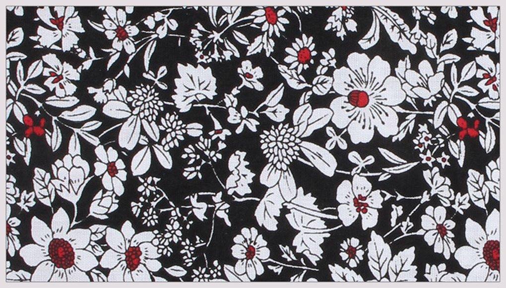 BonjourMrsMr Men's Business Suit Casual Floral Cotton Pocket Square Handkerchiefs Set by BonjourMrsMr (Image #4)
