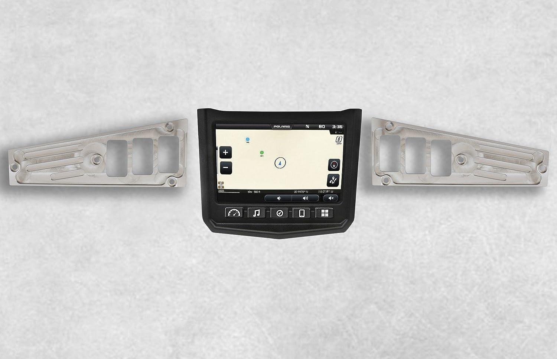 6 Switch BLACK Ride Command Dash Panel Kit Polaris XP1000
