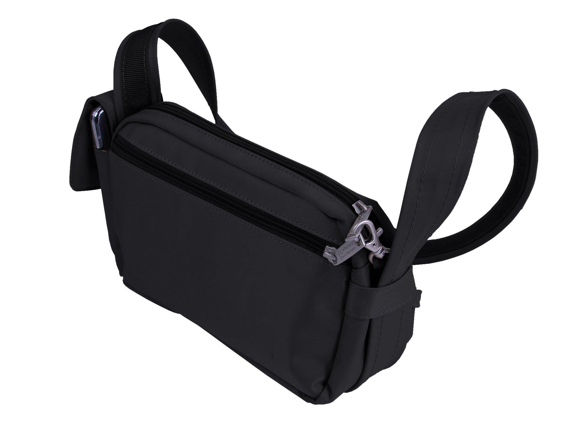 Be Safe Bags Anti-Theft Waist Travel Bag, 3-Way Convertible