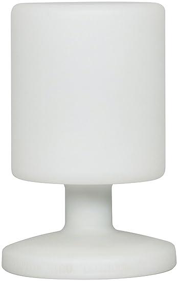 Ranex 5000.472 LED Akku Tischlampe/ Tischleuchte, spritzwassergeschützt, 2 Helligkeitsstufen