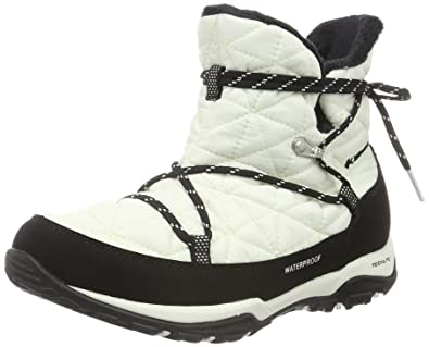 Columbia Women's Loveland Shorty Omni-Heat Snow Boot, Sea Salt/Black, 5