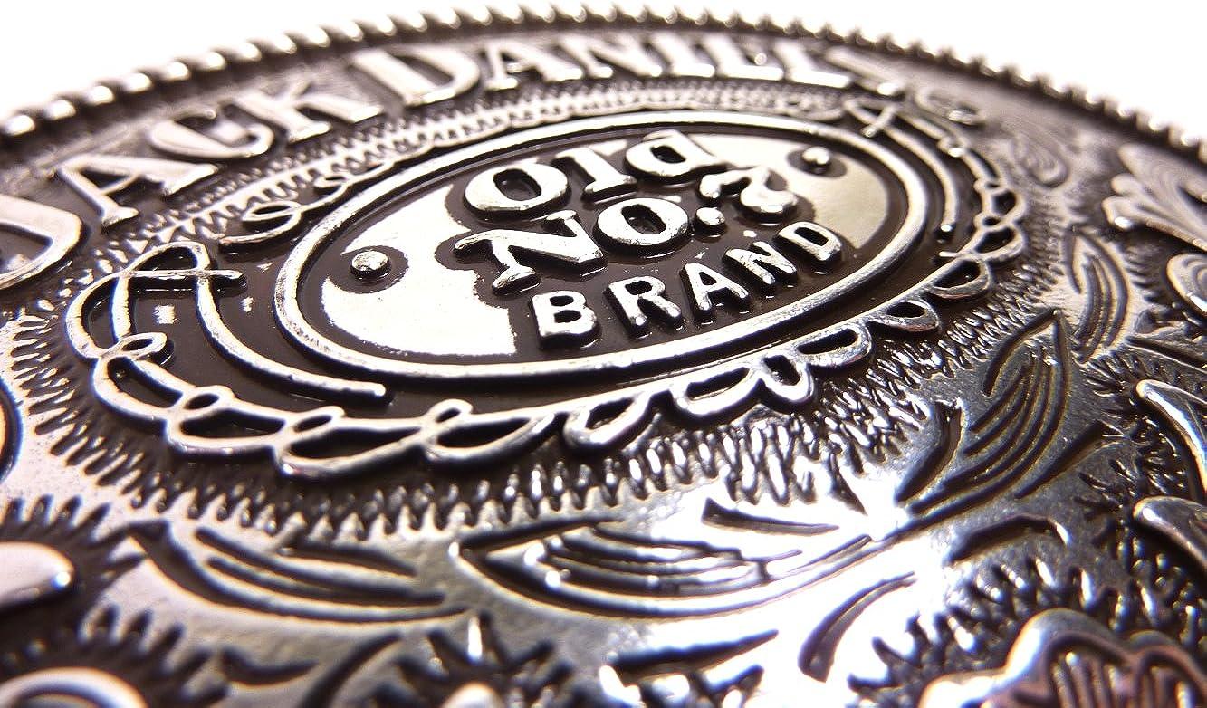 7 Brand oval G/ürtelschnalle G/ürtelschlie/ße Western Belt Buckle Westerng/ürtelschnalle Rodeo Vintage Silber Unbekannt G/ürtelschnalle Jack Daniels Old No