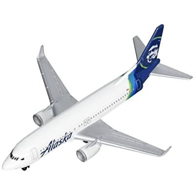 Daron Alaska Airlines Single Plane Vehicle: Toys & Games
