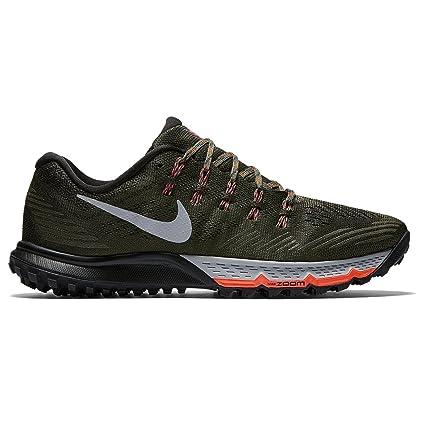aeba4eba34aa Nike Mens Air Zoom Terra Kiger 3 Size 8 Cargo Khaki Wolf Grey Black302