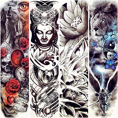 Tatuajes Temporales India Buda Tatuaje Temporal Lotus Tailandia ...