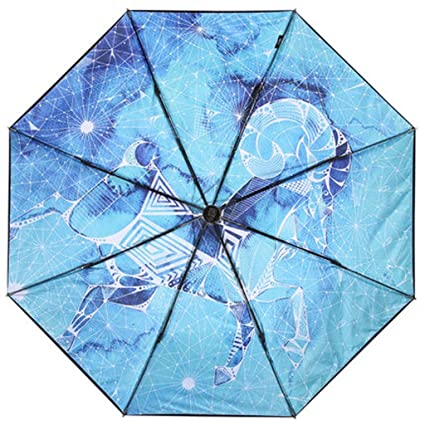 6f5cd623177a Amazon.com: JSSFQK 12 Constellation Series Umbrellas Double Umbrella ...