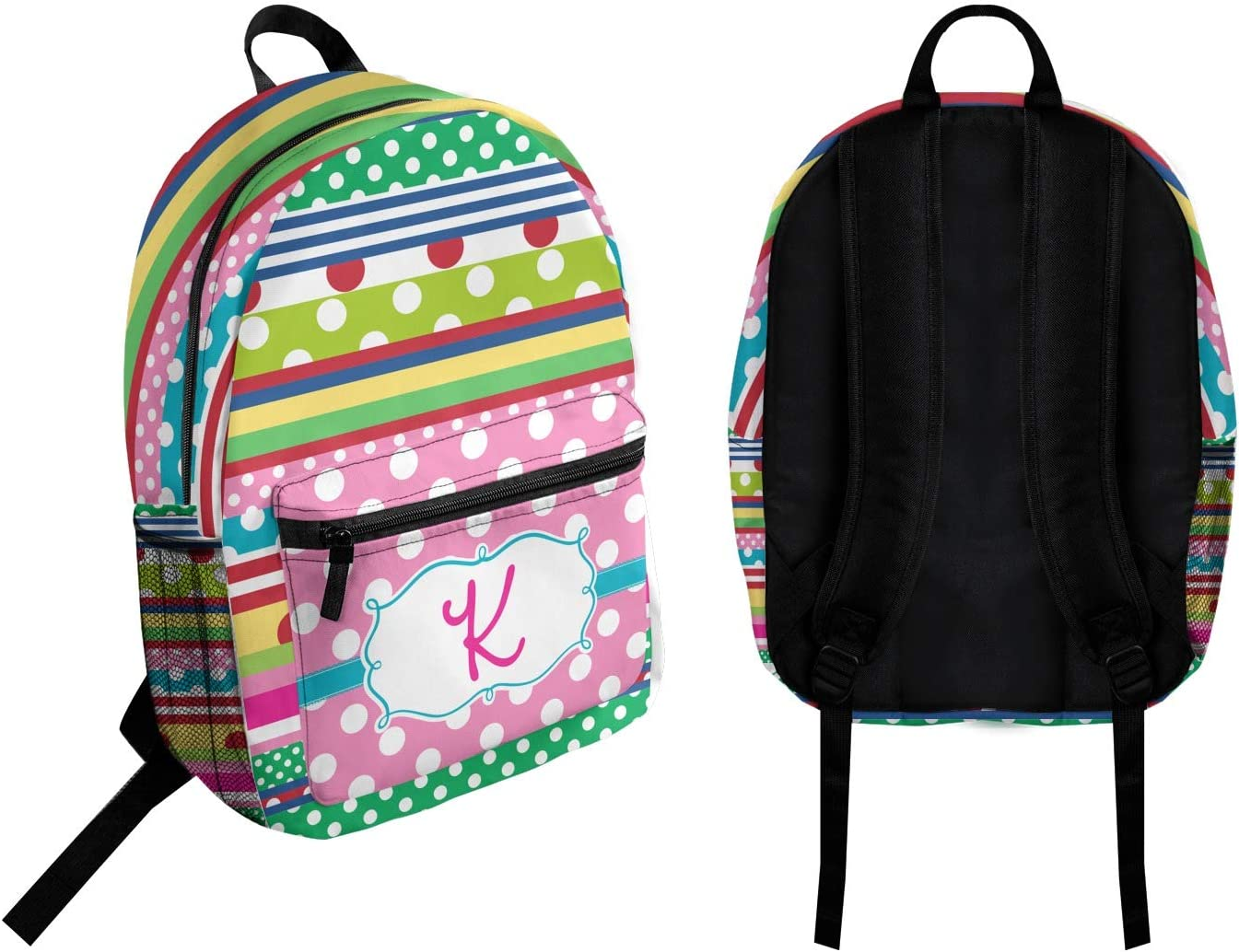 Personalized Ribbons Student Backpack