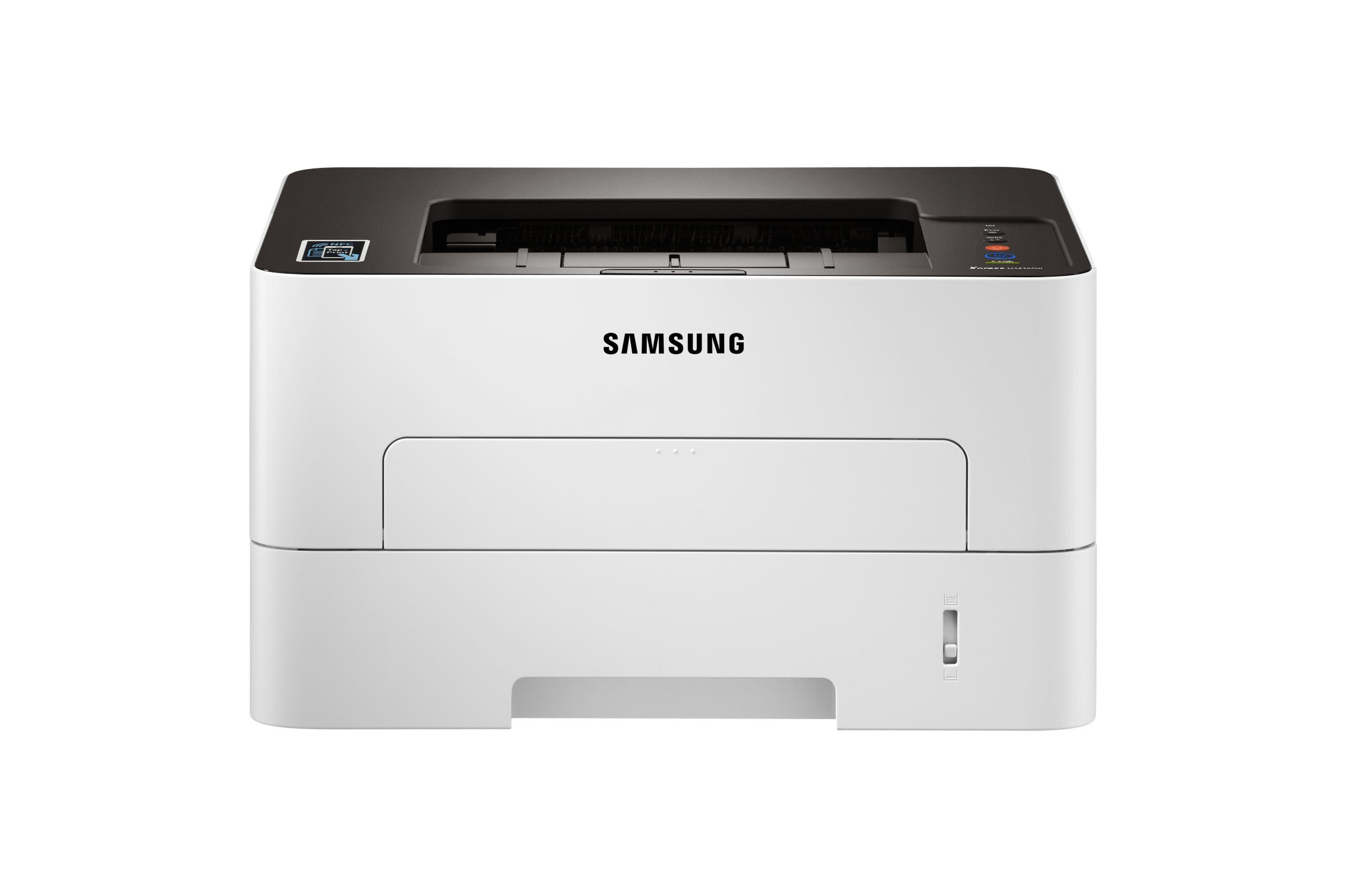Samsung Xpress M2835DW Wireless Monochrome Laser Printer with Simple NFC + WiFi Connectivity, Duplex Printing and Built-in Ethernet, Amazon Dash Replenishment Enabled (SS346C) (Certified Refurbished)