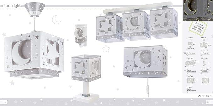Dalber 3 WAmazon Gris60 Plafon Moonlight esIluminación Luces bYgf6y7