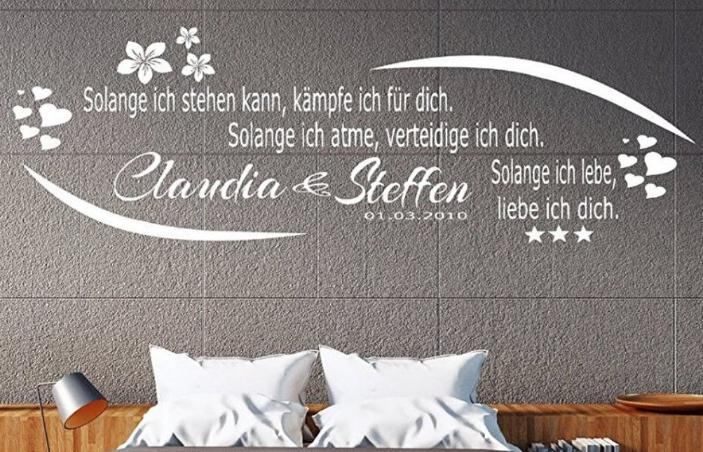 Tjapalo® Wandtattoo a-pk78 Wandtattoo Tjapalo® Schlafzimmer ...