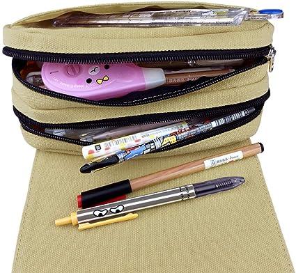 Bonamana Estuche para lápices de doble capa, diseño de anime y cosplay, para estudiantes y adolescentes, color Roblox: Amazon.es: Oficina y papelería