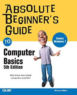 amazon com computer basics absolute beginner s guide windows 10 rh amazon com beginners guide to using a computer keyboard Computer Tutorials for Beginners