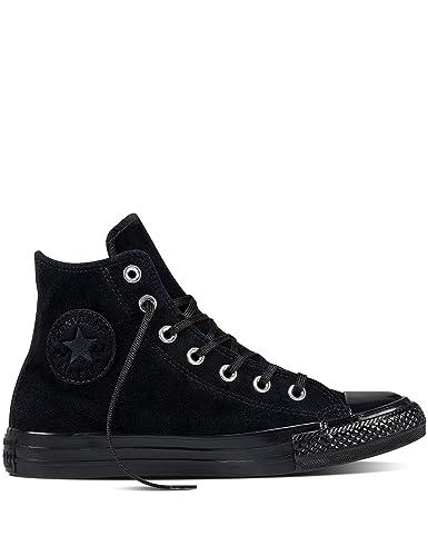 6d33d3da7cd2 Converse All Star Hi Noir Cuir: Amazon.fr: Chaussures et Sacs