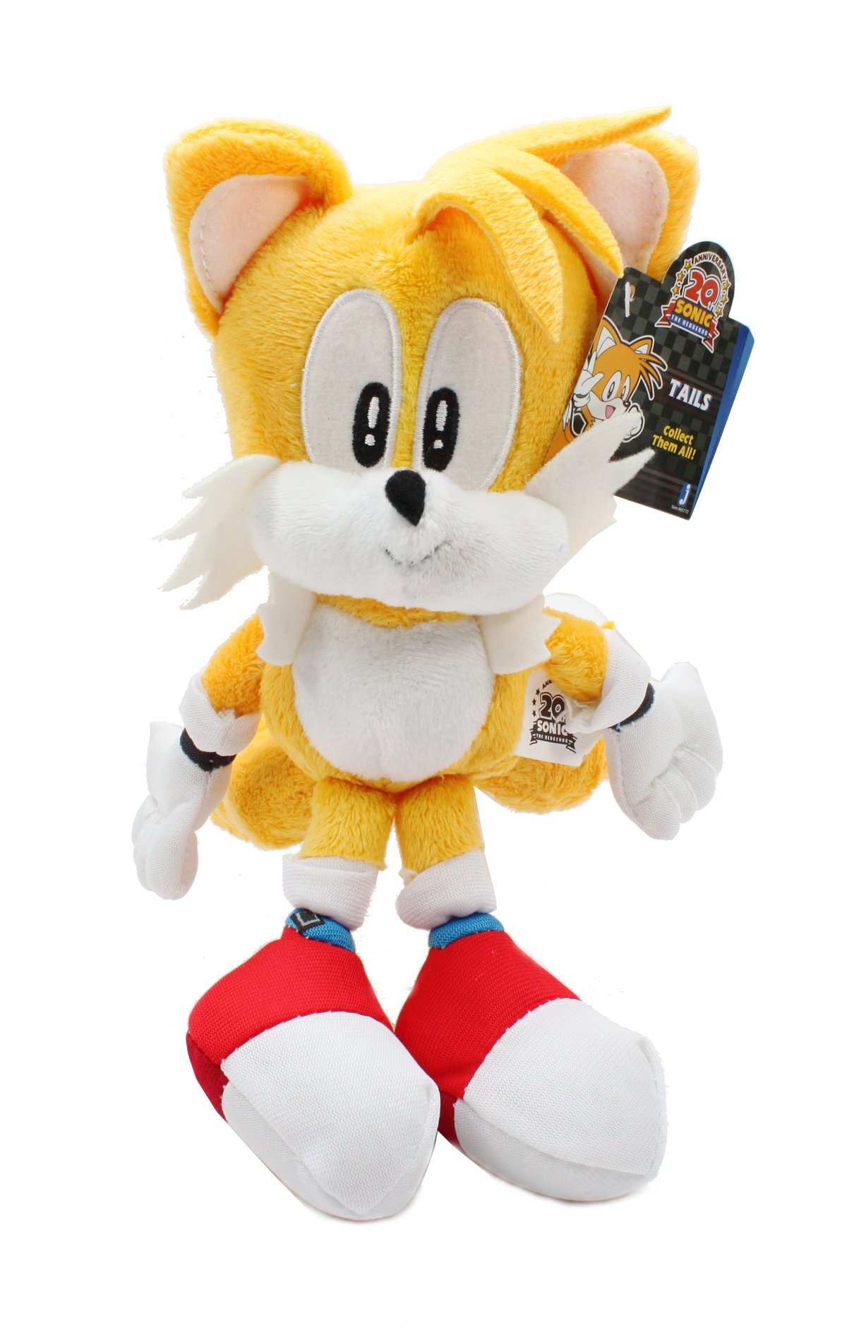 Jazwares Sonic The Hedgehog Plush - 9'' Classic Tails by Jazwares
