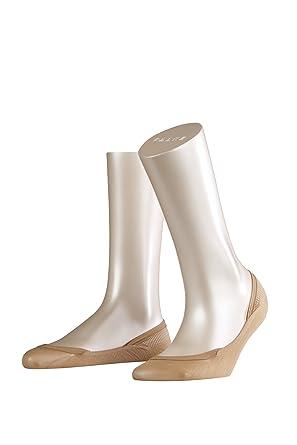 Ladies 1 Pair Falke Cotton Step Invisible Shoe Liners