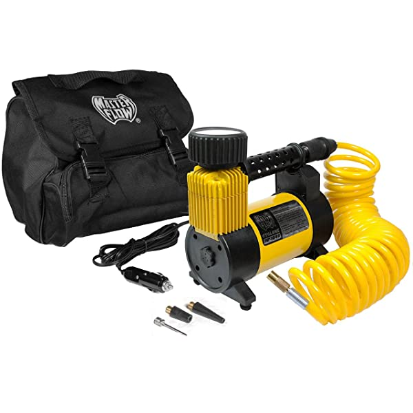 Master Flow MF-1040 is one of the best tankless air compressor for inner tubes of a bicycle.