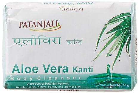 4 Patanjali Kanti Aloe Vera 75 Gm Bath And Body Cleanser Soap Other Bath & Body Supplies Bath & Body