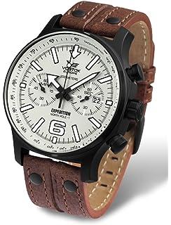 Vostok-Europe Mens 6S32/6564200 Japanese Quartz Movement Watch