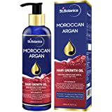 StBotanica Moroccan Argan Hair Growth Oil (With Jojoba, Almond, Castor, Olive, Avocado, Rosemary)