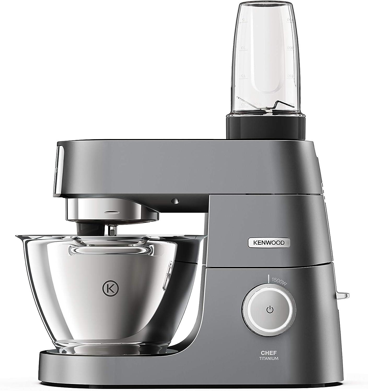 Kenwood KAH740PL Blend Xtract Sport Mixer (Smoothies, zumos, batidos de leche, accesorio para robot de cocina, adecuado para todos los robot de cocina Chef y kMix 2 vasos de 0,6 L: Amazon.es: