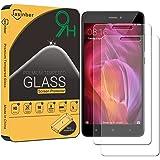 [2-Pack] Jasinber Mica de Vidrio Cristal Templado para Xiaomi Redmi Note 4 / Note 4X