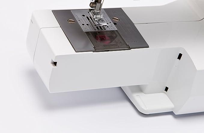 Brother LS14S - Máquina de coser con chasis de metal, materiales sintéticos, n/a, 43.9 x 18.9 x 36 cm: Amazon.es: Hogar