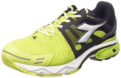 the latest b8840 48510 Diadora Men s N-7100-1 Baby Shoes Black Size  UK 4.5