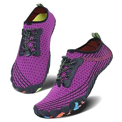 Men Lightweight Water Shoes Women Swimming Non Slip Aqua Shoes Fitness Sneakers