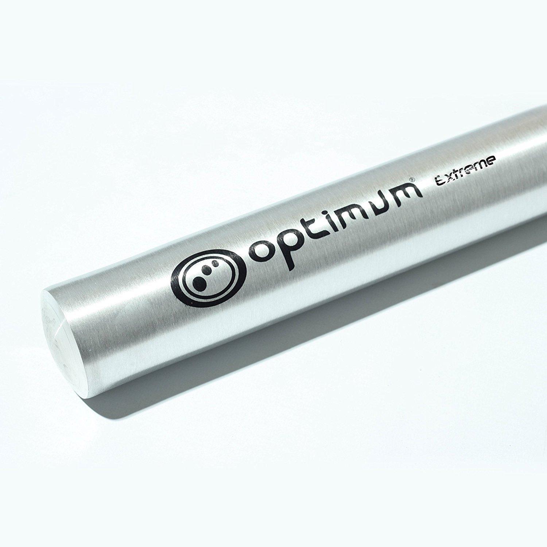 "Optimum Extreme Silver Aluminium Metal Baseball Rounders Bat 28/"" Inch"