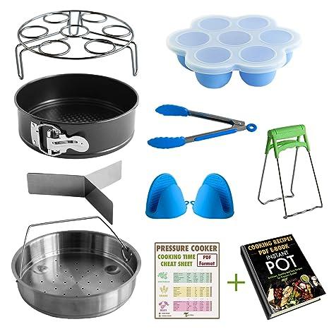 Amazon com: Pressure Cooker Accessories Set Compatible with
