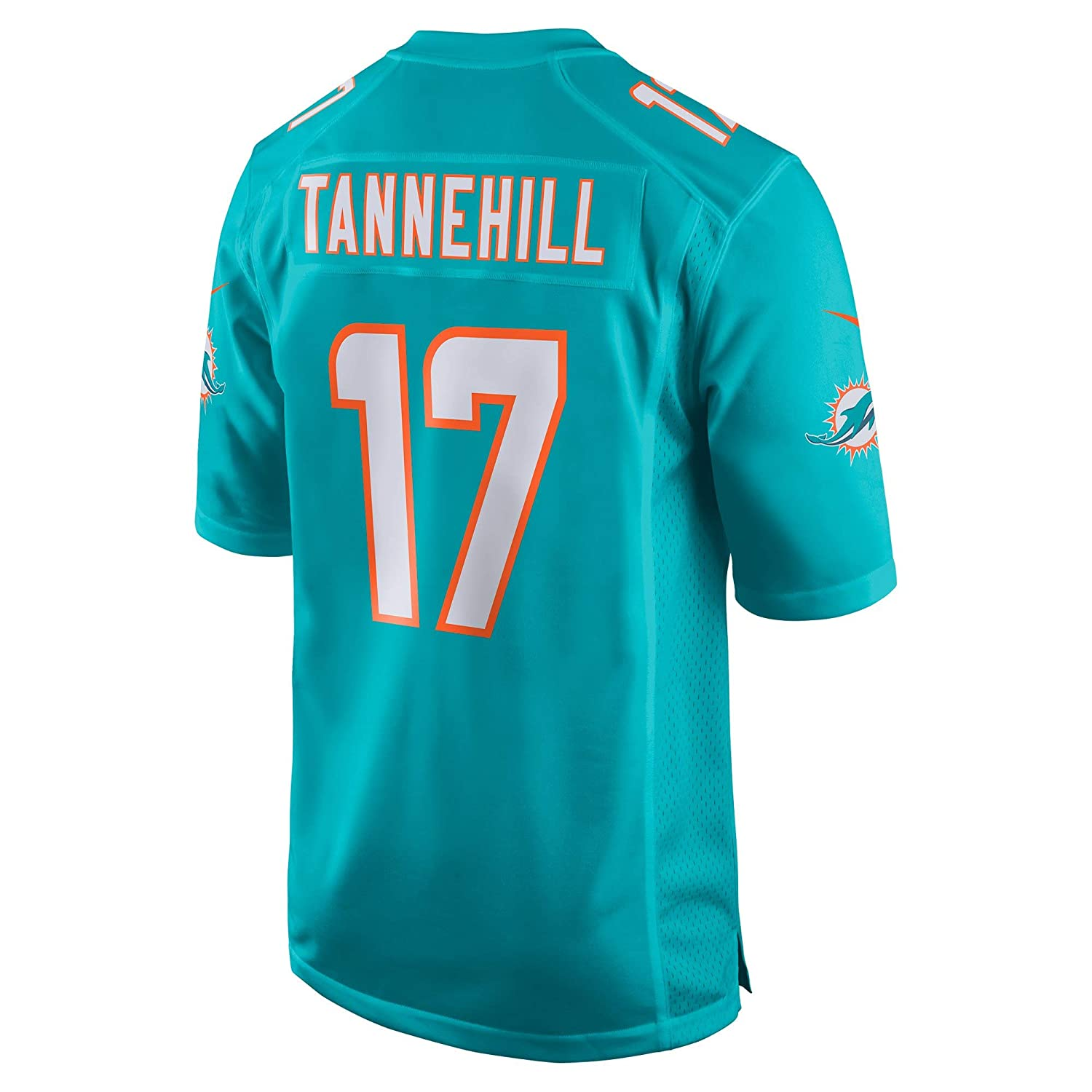 67b5c1c4 Amazon.com : Nike Ryan Tannehill Miami Dolphins NFL Youth 8-20 Aqua Teal  Home On-Field Player Jersey : Clothing