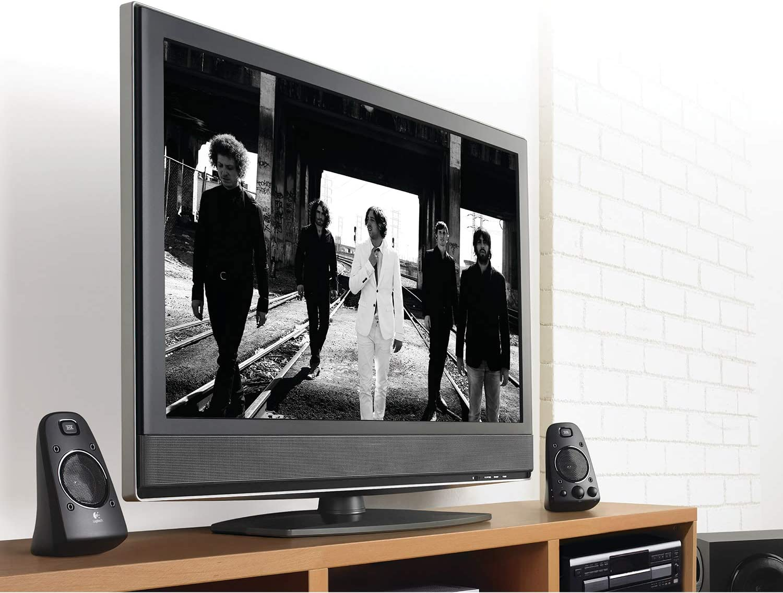 Logitech Z623 THX 2.1 Sistema de Altavoces con Subwoofer, Certificado THX Audio, 400 Vatios de Pico, Graves Potentes, Entradas de 3.5 mm/RCA, Enchufe EU, Multi-Dispositivos PC/PS4/Xbox/TV/Móvil/Tablet: Amazon.es: Electrónica