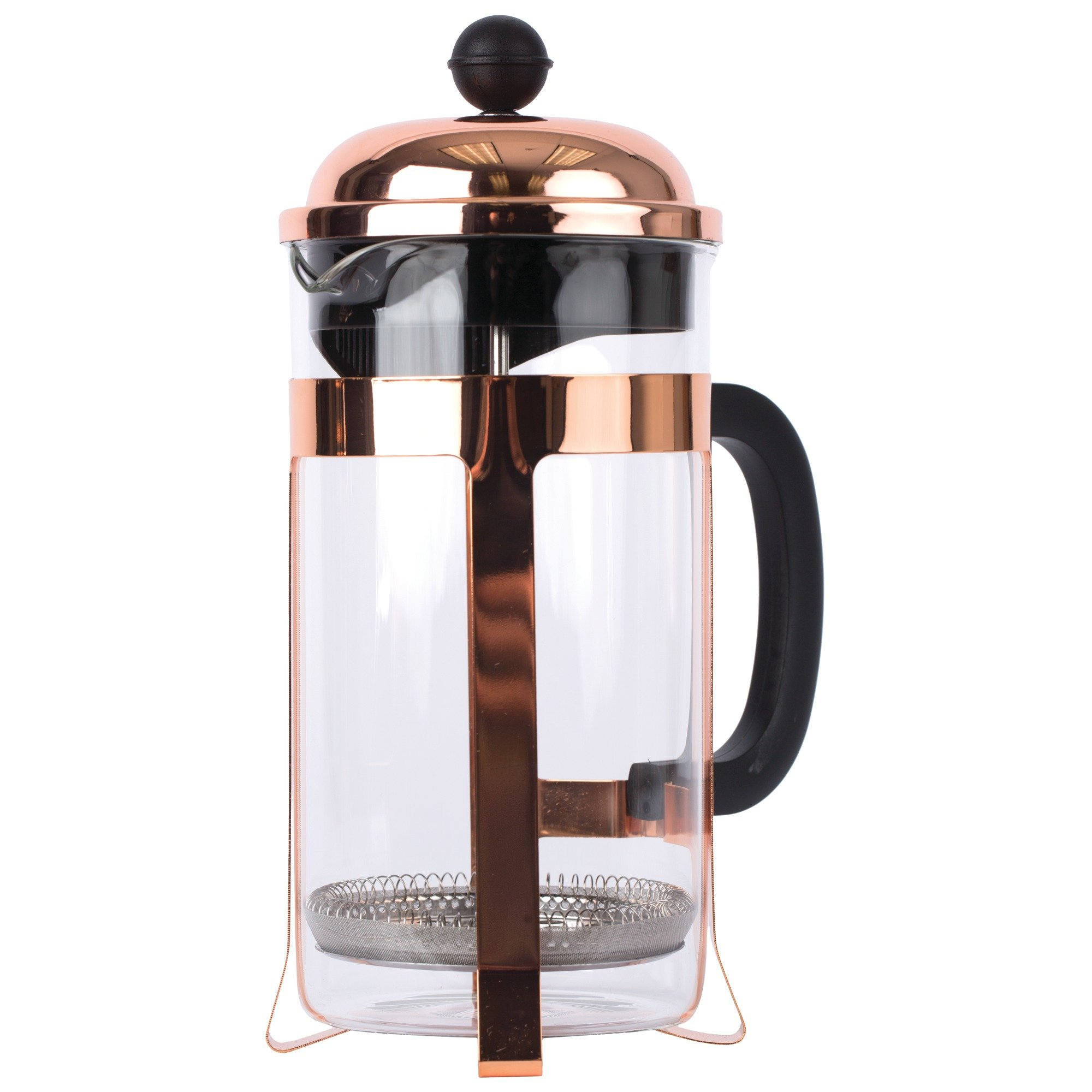 Wyndham House 32 OZ (1000ml) Copper Colored French Press Coffee Maker