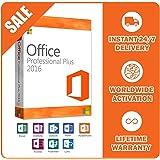 Microsoft Office Professional Plus 2016 5 PC Lizenz Key ohne Datenträger Vollversion