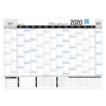 Jahreskalender schulferien