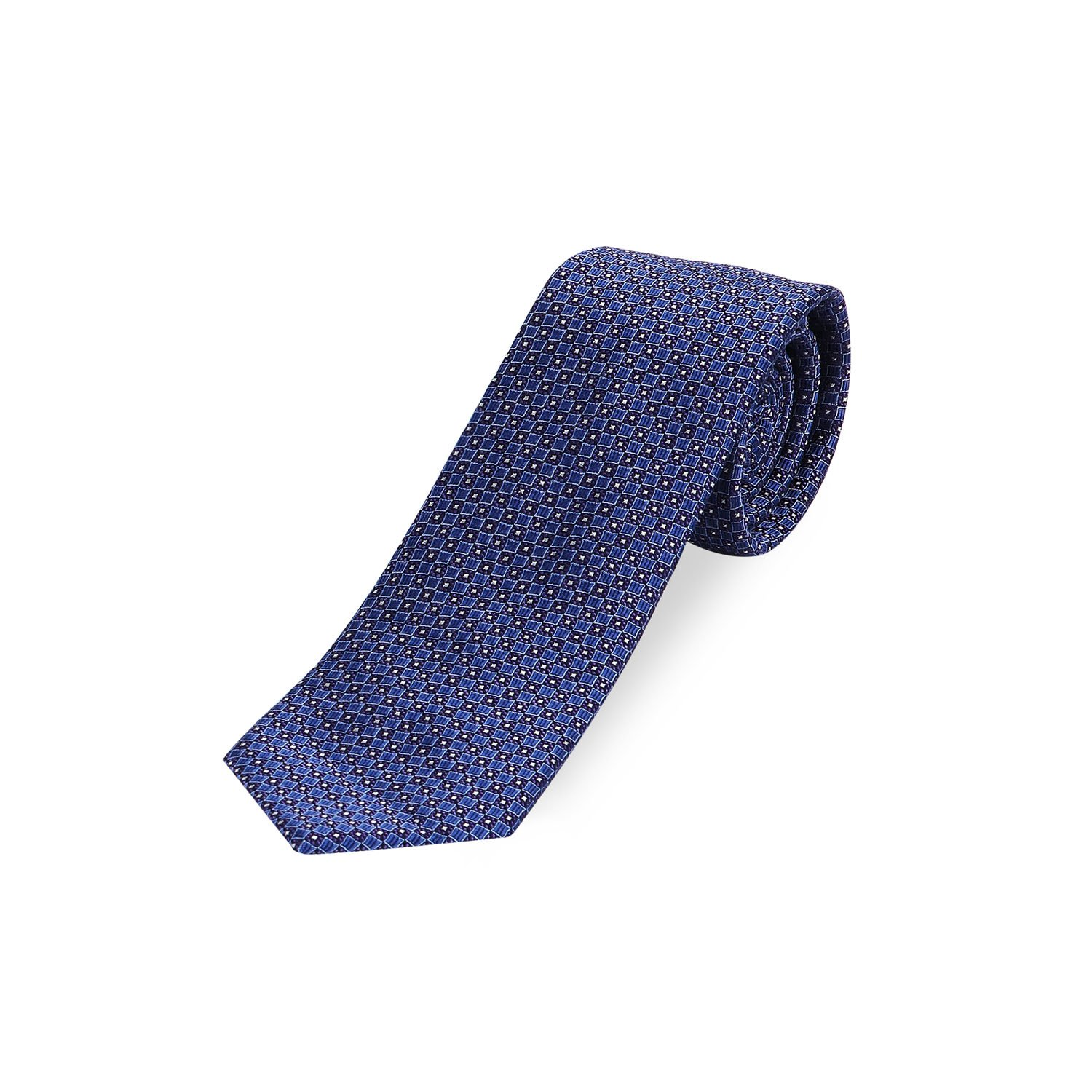 Men's Mulberry Silk Dot Ties, Luxe Jacquard Fabric Neckties for Business, Wedding, Casual