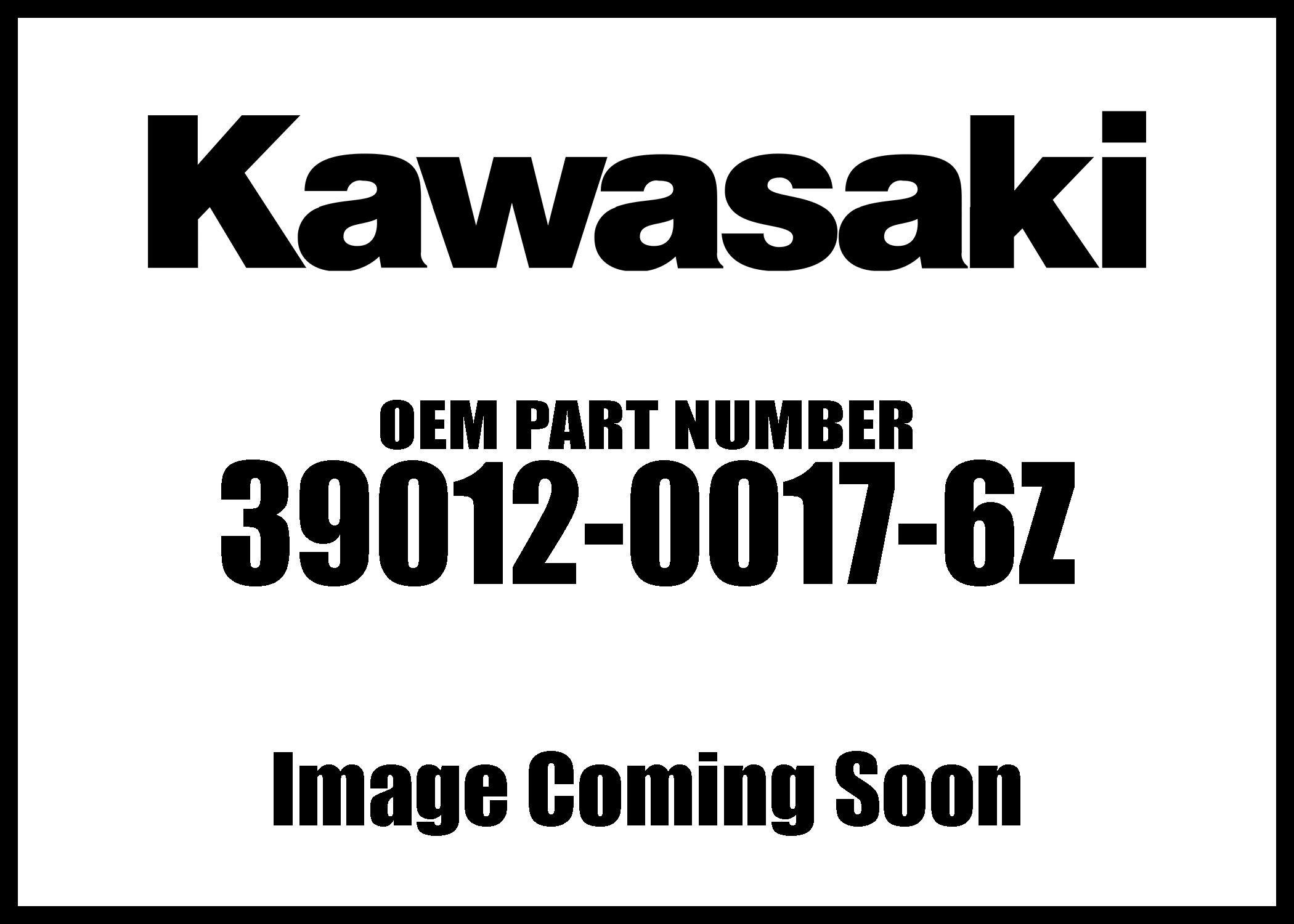 Kawasaki 2008-2013 Teryx 750 4X4 Teryx 750 Fi 4X4 Storage F Black Case 39012-0017-6Z New Oem by Kawasaki