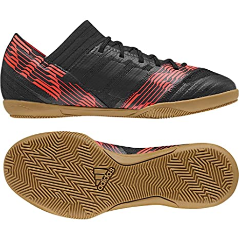 Adidas Nemeziz Tango 17.3 In J, Zapatillas de fútbol Sala Unisex niño, Negro Negbas