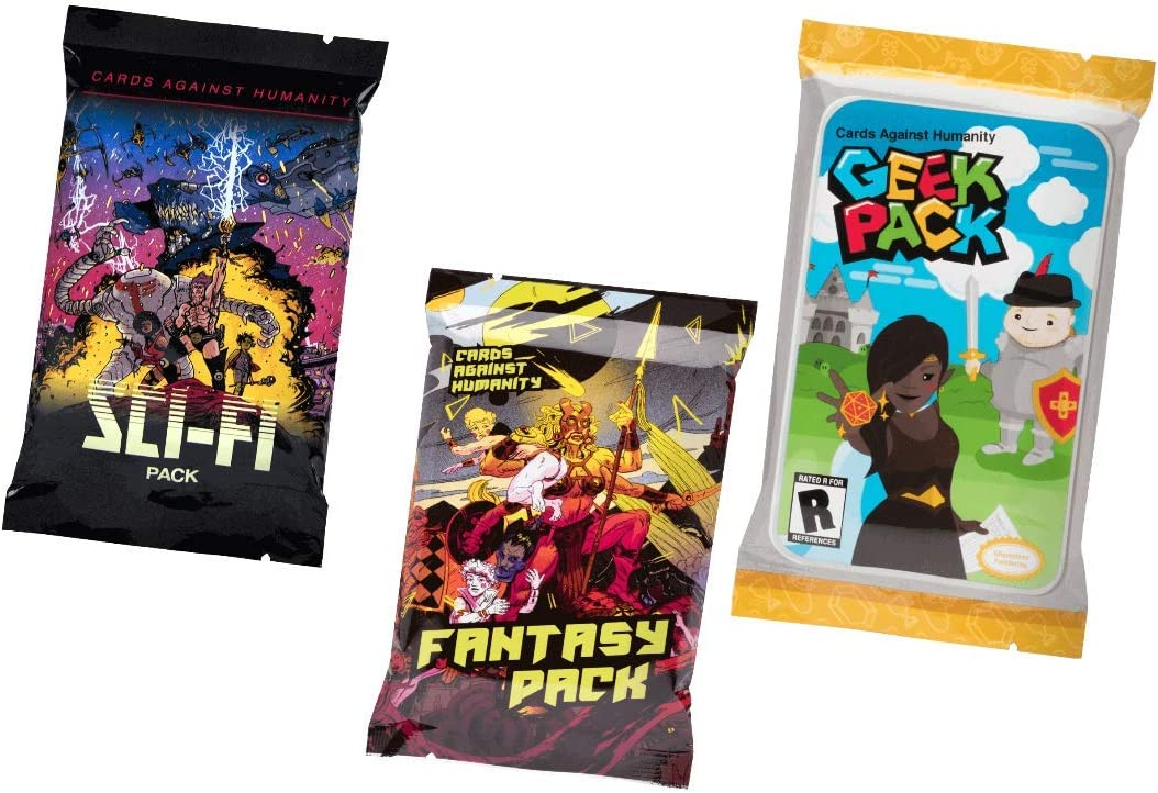 Cards Against & Humanity Sci-Fi & Fantasy & Geek Packs